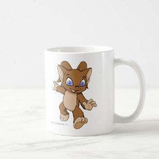 Acara Brown Classic White Coffee Mug