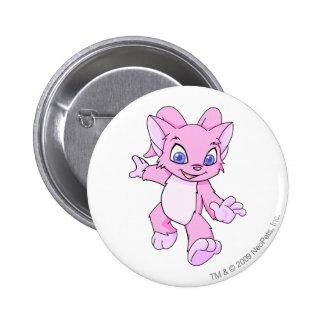 Acara Pink 2 Inch Round Button