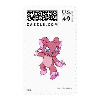 Acara Red Postage Stamp