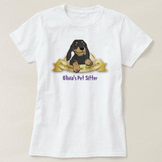 Acaricie la camiseta del canguro/del Groomer/del Remeras