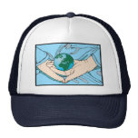 Acaricie nuestro gorra del mundo