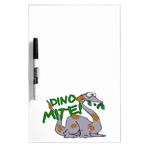 Ácaro de Dino Pizarras Blancas De Calidad