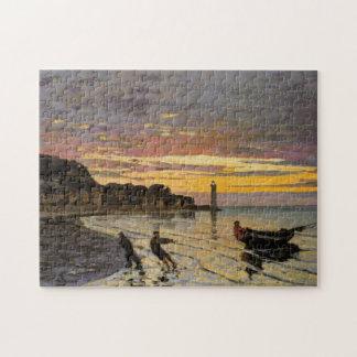 Acarreo de la bella arte de Honfleur Monet del Puzzle Con Fotos
