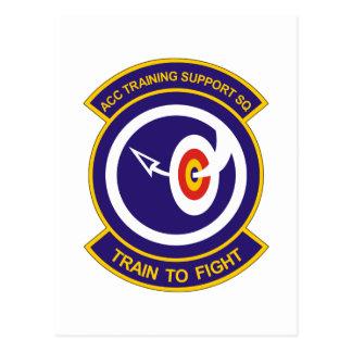 ACC Training Support SQ Det 14 Postcard