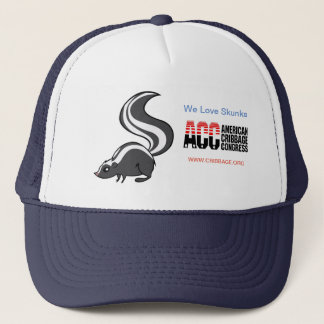 ACC We love Skunks Hat