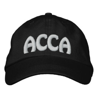 ACCA EMBROIDERED BASEBALL HAT