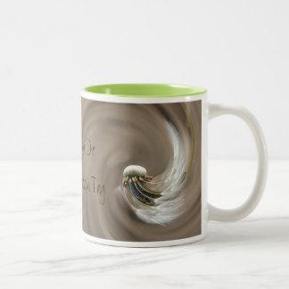 """""""accelerated day"""" by mysteryella mug"""