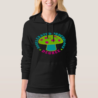 Accelerated Psychology Degree - Psychedelics, Glow Hoodie