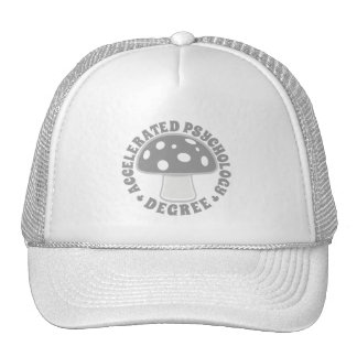 Accelerated Psychology Degree - Psychedelics, Gray Trucker Hat