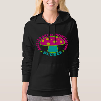 Accelerated Psychology Degree - Psychedelics, Neon Hoodie