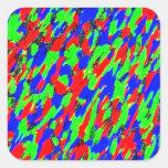 Accent Customizable Square Stickers