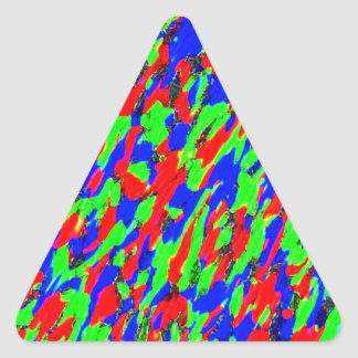 Accent Customizable Triangle Sticker