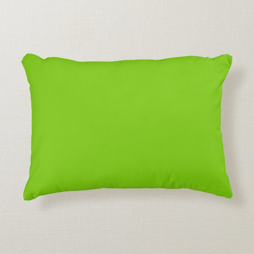 Yellow Green Decorative Pillows : Accent Pillow by Janz in Yellow Green Zazzle