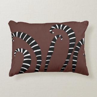 Accent Pillow - Lemur Tails Chocolate