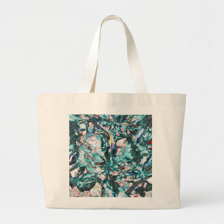 Accents of Blue Large Tote Bag