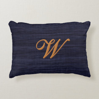 Accentuate The Dignified (Monogrammed) Accent Pillow