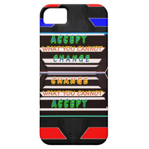 Accept Change - Be a Change Agent iPhone 5 Covers