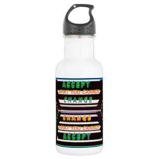 Accept Change - Be a Change Agent Water Bottle