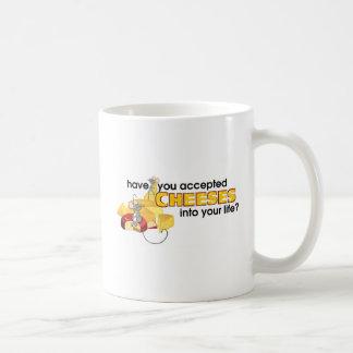 Accept Cheeses Coffee Mug
