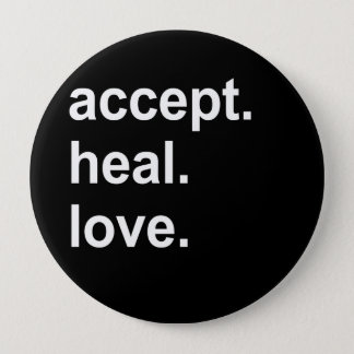 accept. heal. love button