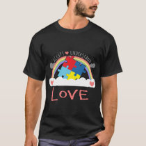 Accept Understand Love Autism Awareness 2017 T-Shirt