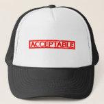 Acceptable Stamp Trucker Hat