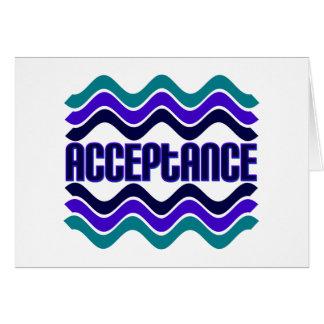 Acceptance Cards
