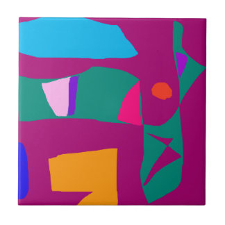 Acceptance Daughter Earth Air Communication Small Square Tile