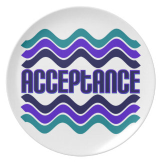 Acceptance Dinner Plate