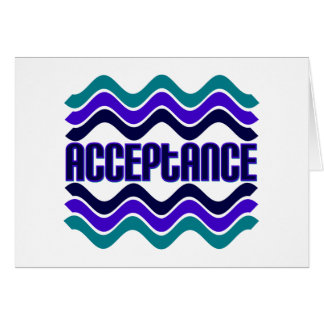 Acceptance Greeting Card