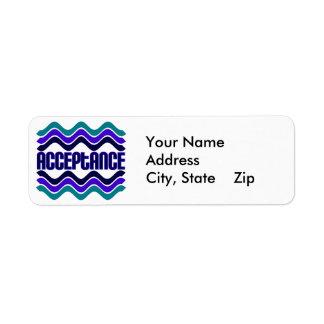 Acceptance Label
