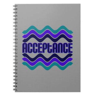 Acceptance Spiral Note Books