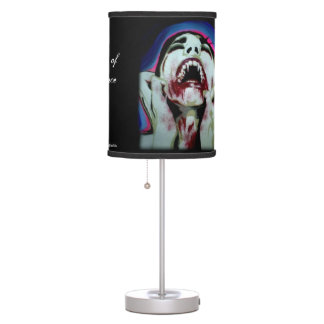 'Acceptance' on a table lamp