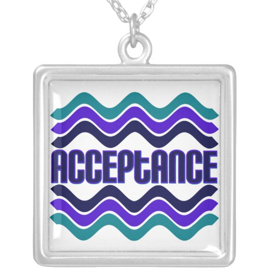 Acceptance Silver Plated Necklace