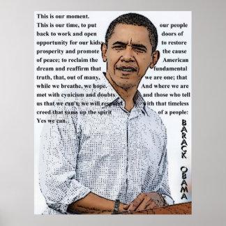 Acceptance Speech Poster
