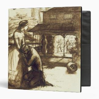 Accepted, 1853 (pen & brown ink on paper) vinyl binders
