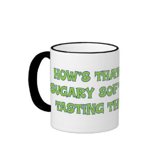 Accepting the party line ringer mug