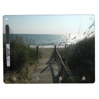 Acceso a la playa pizarras
