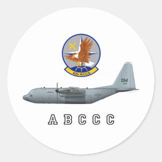 Acceso de ABCCC 42.o Pegatinas Redondas