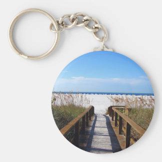 Acceso de la playa llavero personalizado