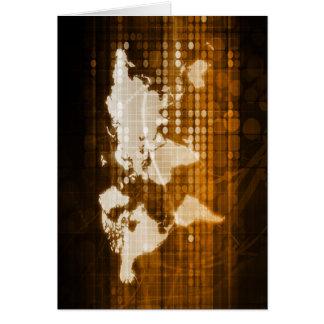 Acceso global de las soluciones del servicio y de tarjeta de felicitación