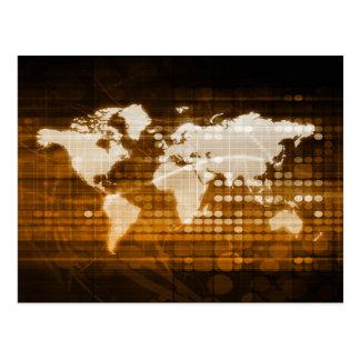 Acceso global de las soluciones del servicio y de tarjeta postal