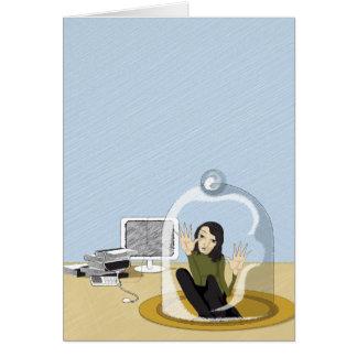 acceso negado tarjeta de felicitación