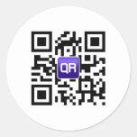 accesorios cifrados QR del personalizado de QRinat Pegatina
