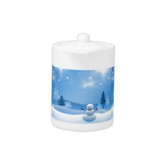 accesorios de la cocina del muñeco de nieve