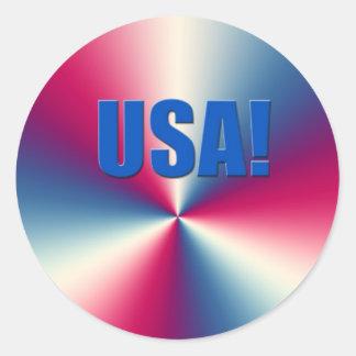 Accesorios de las Olimpiadas de los E.E.U.U. Pegatina Redonda