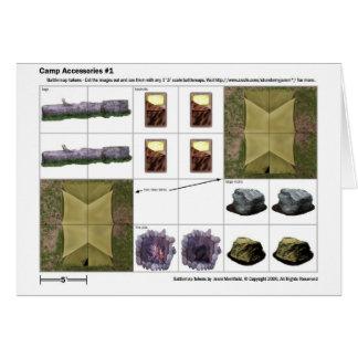 Accesorios del campo - tarjeta simbólica