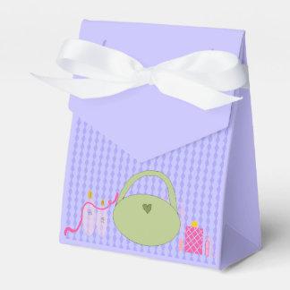 Accesorios del fiesta del balneario caja para regalos de fiestas