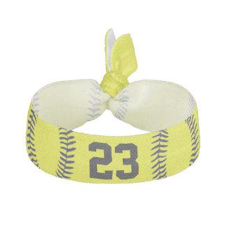 Accesorios del pelo del softball del NÚMERO del Coleteros