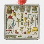 Accesorios romanos ornamento para reyes magos